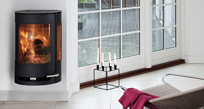 aduro 9 4 kaminofen wandmontiert 3 scheiben mit 3 9 kw bei kamine wein berlin. Black Bedroom Furniture Sets. Home Design Ideas